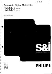 Servicehandboek Philips PM2517X