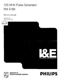 Servicehandboek Philips PM 5786