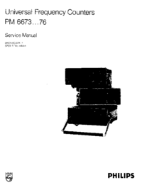 Service Manual Philips PM 6675