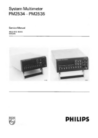 Service Manual Philips PM2534