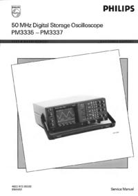 Instrukcja serwisowa Philips PM3337