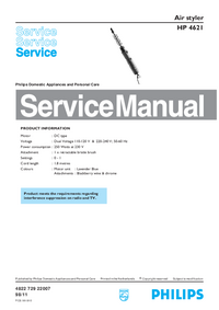 Service Manual Philips HP 4621
