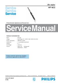 Manuale di servizio Philips HP 4622