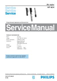 Servicehandboek Philips HP 4634