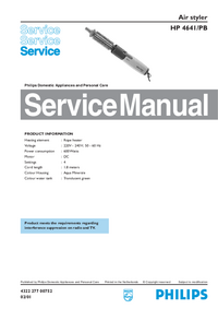 Manual de servicio Philips HP 4641/PB