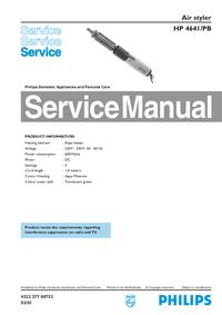 Instrukcja serwisowa Philips HP 4641/PB
