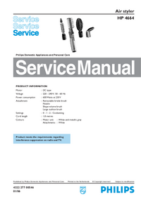 Service Manual Philips HP 4664