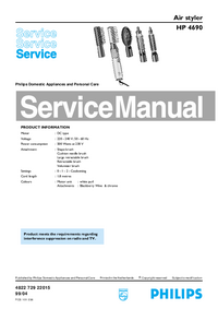 Service Manual Philips HP 4690