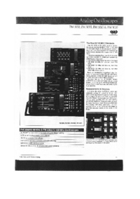 Datasheet Philips PM 3070