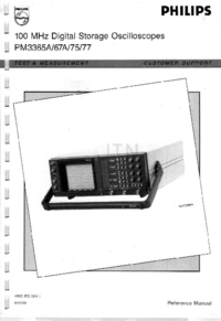 User Manual Philips PM3377