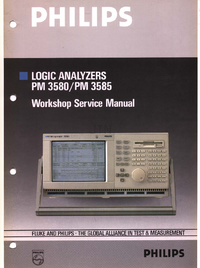 Service and User Manual Philips PM 3580/60