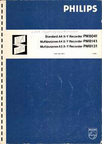 Service- und Bedienungsanleitung Philips PM8131