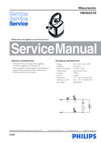 Servicehandboek Philips HD4602/20