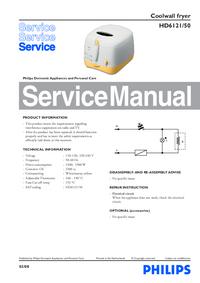 Servicehandboek Philips HD6121/50