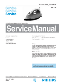 Manuale di servizio Philips HI 228
