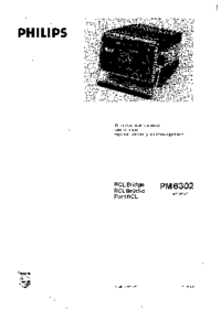 Service and User Manual Philips PM6302