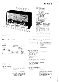 Servicio y Manual del usuario Philips B5X22A