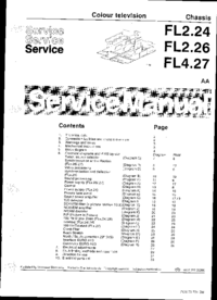 Service Manual Philips FL4.27