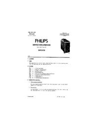 Service Manual Philips GM 5650