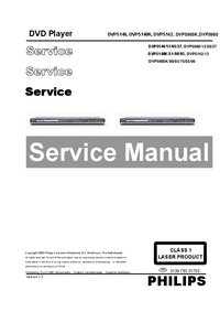 Service Manual Philips DVP5140K