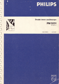 Serwis i User Manual Philips PM3231
