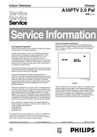 Manual de serviço Philips A10PTV 2.0 Pal