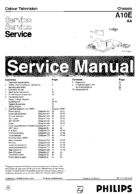 Manual de servicio Philips A10E AA