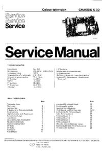Instrukcja serwisowa Philips K30