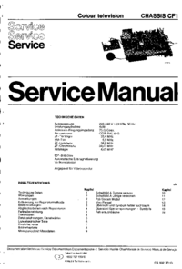Service Manual Philips CF1
