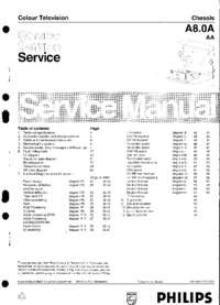 Manual de servicio Philips A8.0A AA