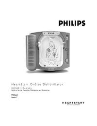 manuel de réparation PhilipsMedical HeartStart OnSite M5066A