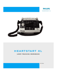User Manual PhilipsMedical Heartstart XL M4735A