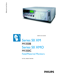 Servicehandboek PhilipsMedical Series 50