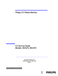 Servicehandboek PhilipsMedical C3 862474