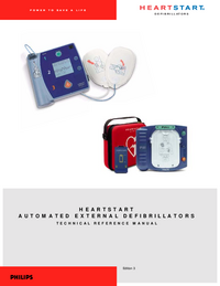Servicehandboek PhilipsMedical Heartstream ForeRunner