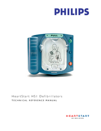 Servicehandboek PhilipsMedical HeartStart Home M5066A