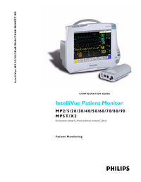 User Manual PhilipsMedical IntelliVue MP5T
