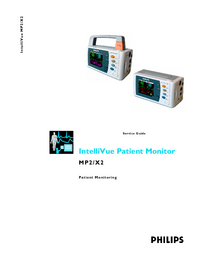 Service Manual PhilipsMedical IntelliVue X2