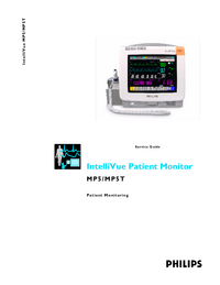 Service Manual PhilipsMedical IntelliVue MP5T