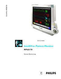 Instrukcja serwisowa PhilipsMedical IntelliVue MP60