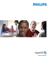 Manual de servicio PhilipsMedical PageWriter Touch