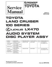 Manuale di servizio Pioneer CDX-M8186ZT