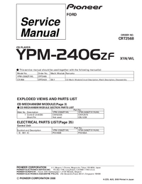 Service Manual Pioneer YPM-2406ZF