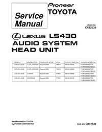 Service Manual Pioneer FX-MG9006ZT-91/UC