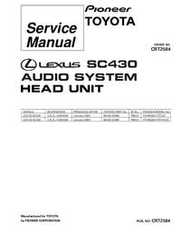 manuel de réparation Pioneer FX-MG8217ZT/UC