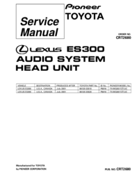 Service Manual Pioneer FX-MG8517ZT