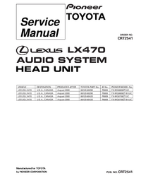 Service Manual Pioneer FX-MG8706ZT-91