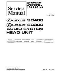 manuel de réparation Pioneer KEX-M8886ZT-91/UC