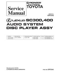 Manual de servicio Pioneer CDX-M8086ZT/E