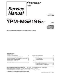 Manuale di servizio Pioneer YPM-MG2196ZF